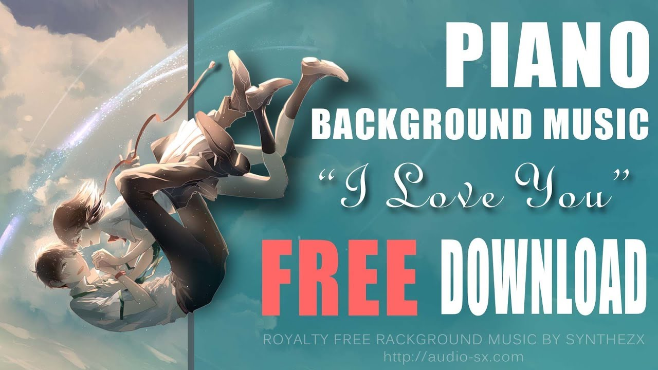 """FREE DOWNLOAD / """"I LOVE YOU"""" / Free Romantic Background ..."""
