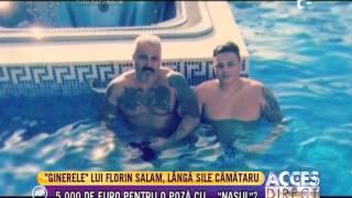 &quotGinerele&quot lui Florin Salam a dat 5.000 de euro pentru o poza cu Sile Camataru