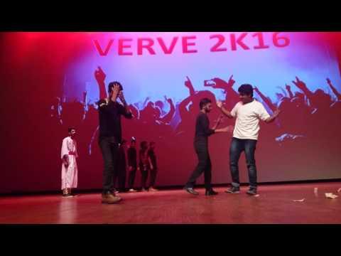 Subharti fest skit program by civil studentss