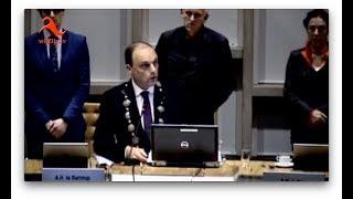 Hardenberg: Gemeenteraad van 4 december 2018 - In Memoriam Ab Leenders