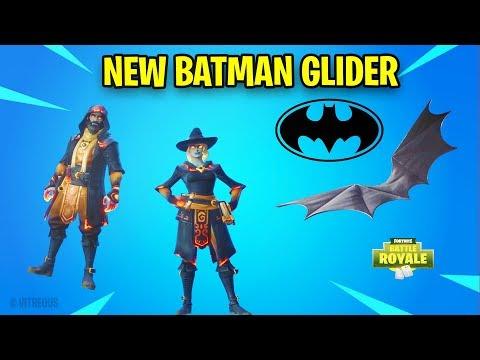 *NEW* Fortnite BATMAN Glider, ELMIRA & CASTOR Halloween Styles , Week 8 Loading Screen