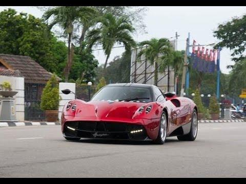 Sultan Johor Pagani Huayra In Malaysia ( Acceleration and king ...
