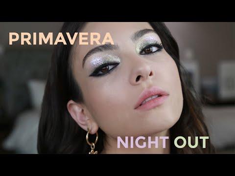 Maquillaje de noche para primavera ideal para ojos café   Anna Sarelly