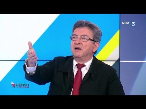 Jean-Luc Mélenchon : Dimanche en politique
