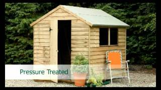 Garden Sheds - Timber Treatment