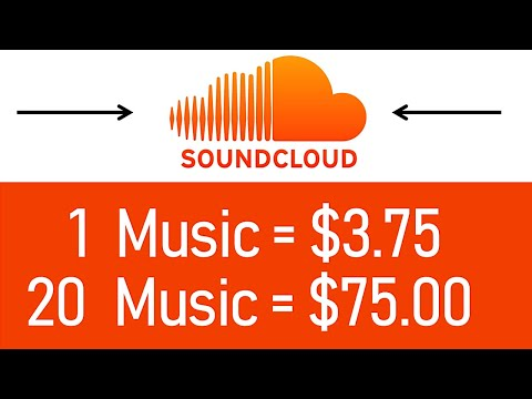 Earn $3.75+ EVERY Soundcloud Music You Listen (FREE) - Make Money Listening To Music | Branson Tay