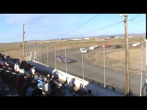 Late model heats and trophy dash 6-21-14 Madras speedway