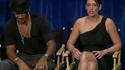 Paget Brewster impersonates Shemar Moore & they talk Twitter