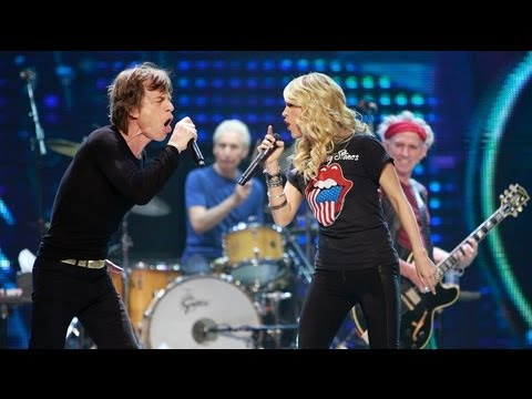 The Rolling Stones - It's Only Rock N Roll with Carrie Underwood at Toronto,Canada 25/05/2013