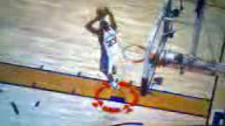 Amazing 360 dunk with extra layup in NBA 2k10
