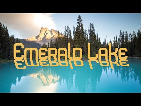 Landscape Photography at Emerald Lake, Yoho National Park