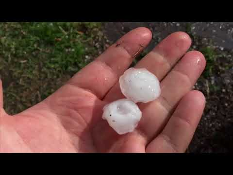70 MPH Wind, Golfball Size Hail | Friday the 13th!