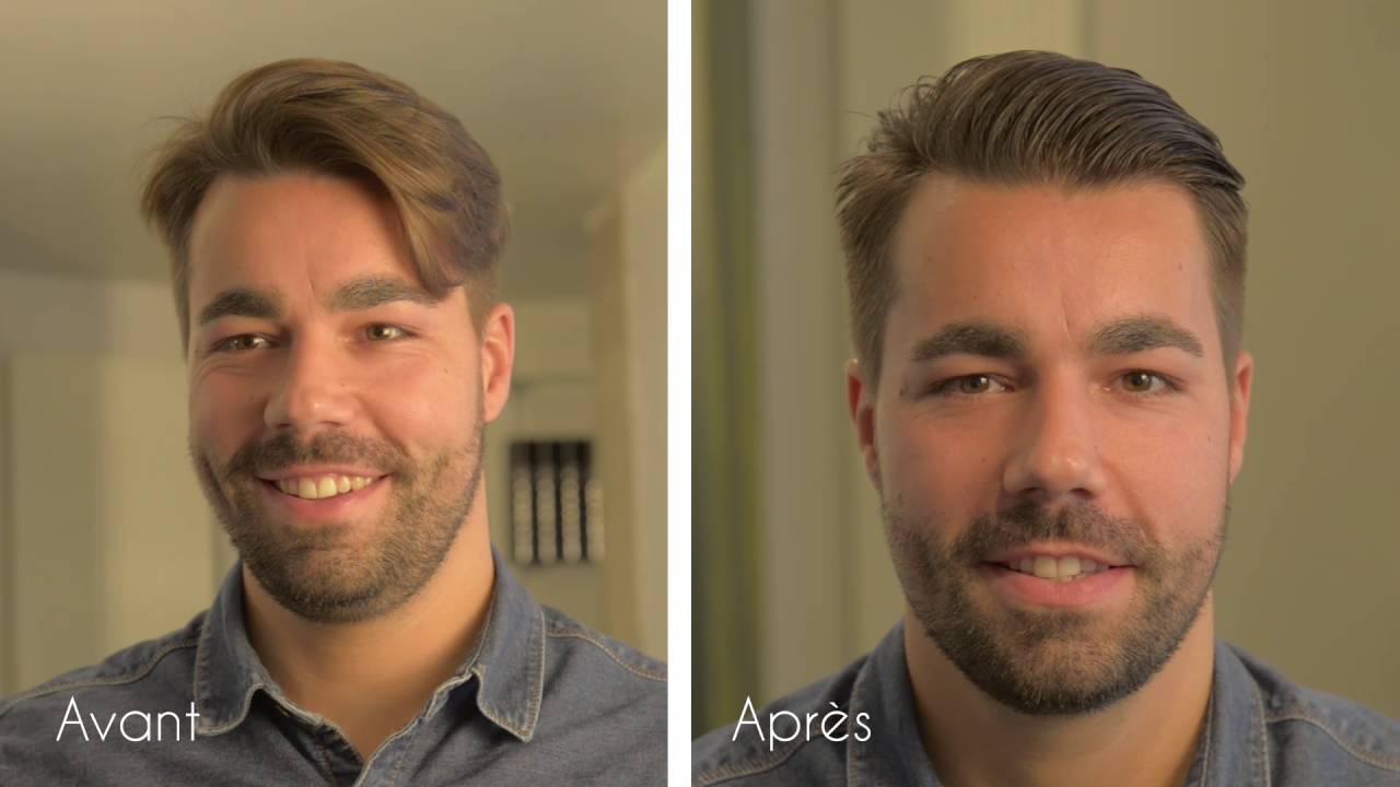 Application Coupe De Cheveux Homme dedans tuto - application de la cire coiffante hydratante patrice mulato