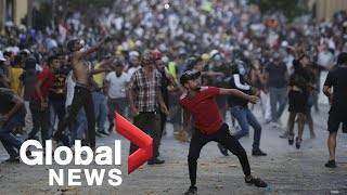 Beirut explosion: Protests continue as anger grows over deadly blast | FULL