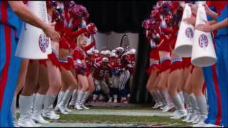 """The Replacements"" cheerleader tackle"