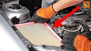 Come cambiare Filtro aria motore OPEL VECTRA C - video tutorial