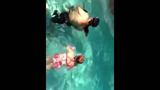 Teach The Dachshund Dog To Swim!