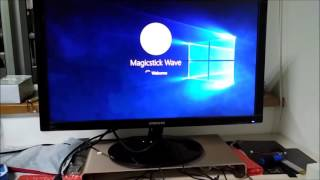 Magicstick Wave with Z8750 Cherry trail processor and 8GB Ram Apps testing