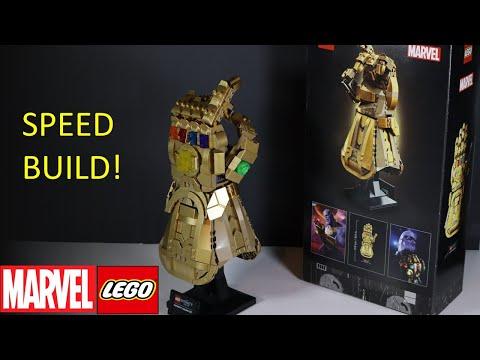 LEGO Marvel Infinity Gauntlet (76191) Speed Build!!