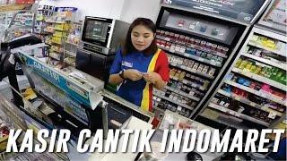 Kasir Cantik Indomaret Malang | Ternyata Cewek Malang Manteb Manteb :D