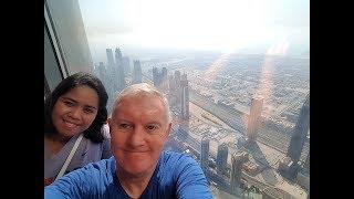Lorney goes up the Tallest Building in the World - Dubai's Burj Khalifa