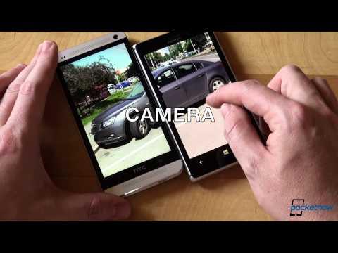 Nokia Lumia 925 vs HTC One | Pocketnow