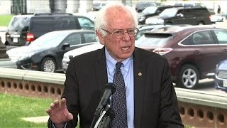 US Senator Bernie Sanders launches presidential run