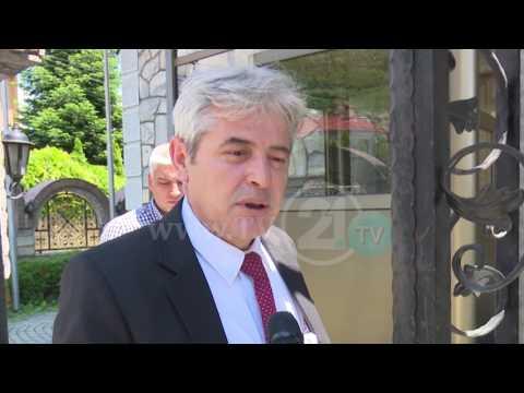 Ахмети за ТВ21: Утре средба СДСМ-ДУИ, Владата ќе се формира наскоро
