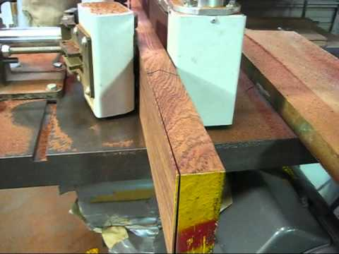 Slicing Bubinga