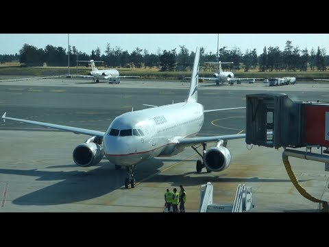 Aegean Airlines A320 Full Flight Larnaca to Thessaloniki - LCA-SKG