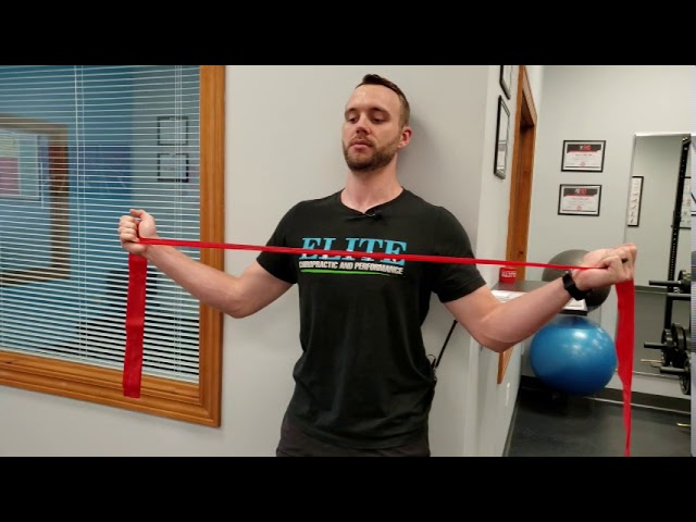 Desk Posture Exercise | Wall W with Chin Nod | Chesterfield Chiropractor