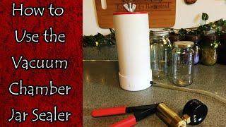 How to Use Mr. Rain's Jar Sealing Vacuum Chamber