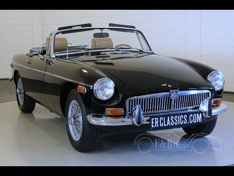MG MGB CABRIOLET 1974 -VIDEO- www.ERclassics.com