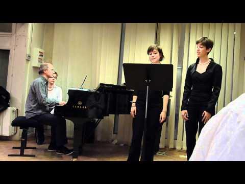 Marie et Anne dans la mort d'Ophélie de Berlioz