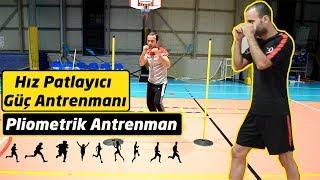 Pliometrik antrenman / Plyometric training / Boks, Kick boks hız, çeviklik, patlayıcı güç antrenmanı