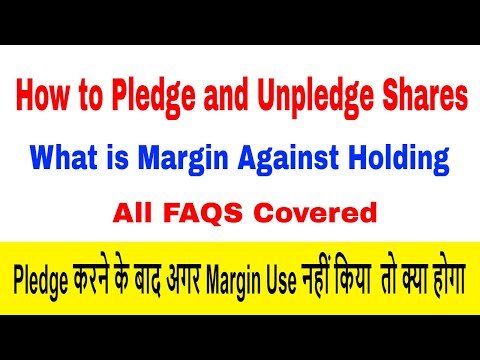 How to pledge shares in angel broking | How to unpledged shares in angel broking & FAQS