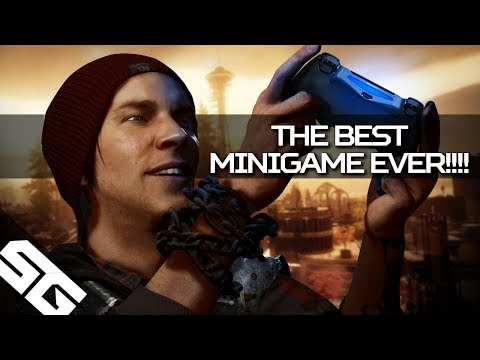Infamous Second Son and the Greatest Graffiti Mini-Game Ever