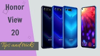 Honor View 20 tips and tricks