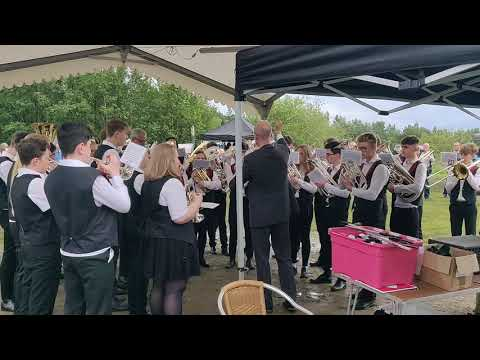 2019-06-14 Diggle Whit Friday. Oldham Music Centre Youth Brass Band