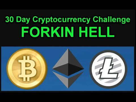 FORKIN HELL - ANOTHER ONE - Bitcoin Silver - 30 Day Cryptocurrency Challenge - Join Us! Day 6