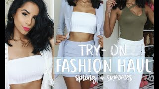 Baixar HUGE TRY ON FASHION HAUL - Spring & Summer