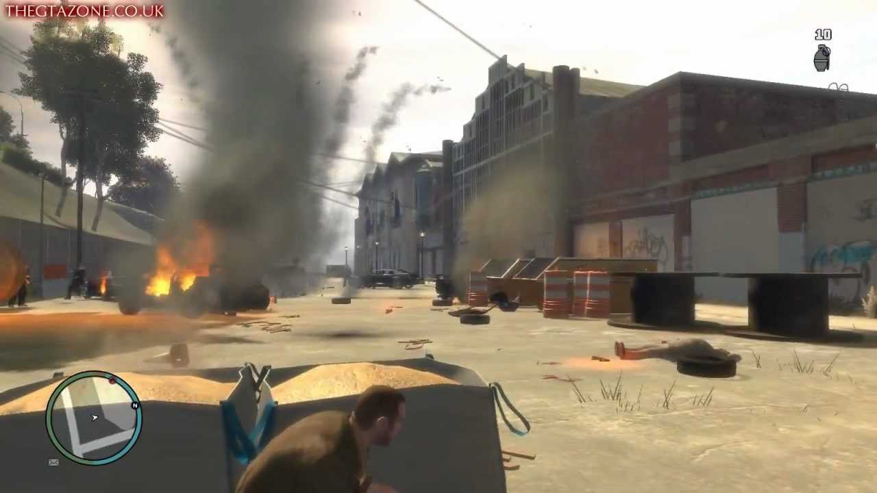 Grand theft auto iv final mission