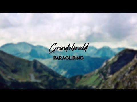 Paragliding In Grindelwald, Switzerland