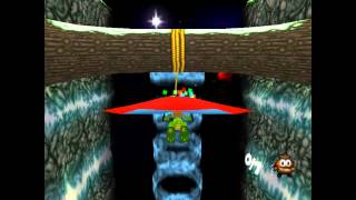 Croc 2 Kingdom of the Gobbos [PSX] 100% - Level 2-3 Hang Glider Valley!