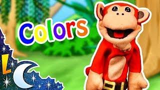 Aprende Inglés con El Mono Sílabo   Los Colores   Inglés para Niños   English For Kids