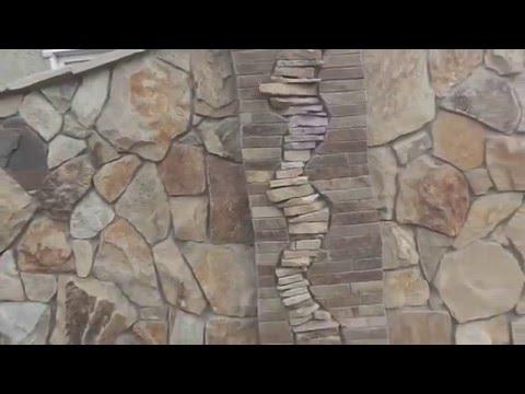 Укладка камня. Природный камень.