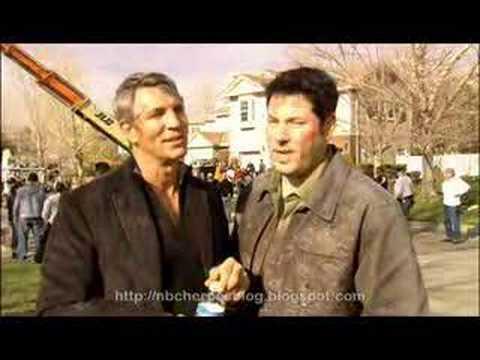 NBC Heroes Company Man interview Eric Roberts Greg Grunberg