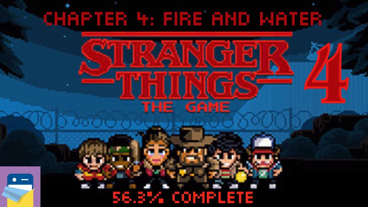 Stranger Things The Game: Chapter 4 Fire and Water Walkthrough & iOS  Gameplay (by BonusXP)