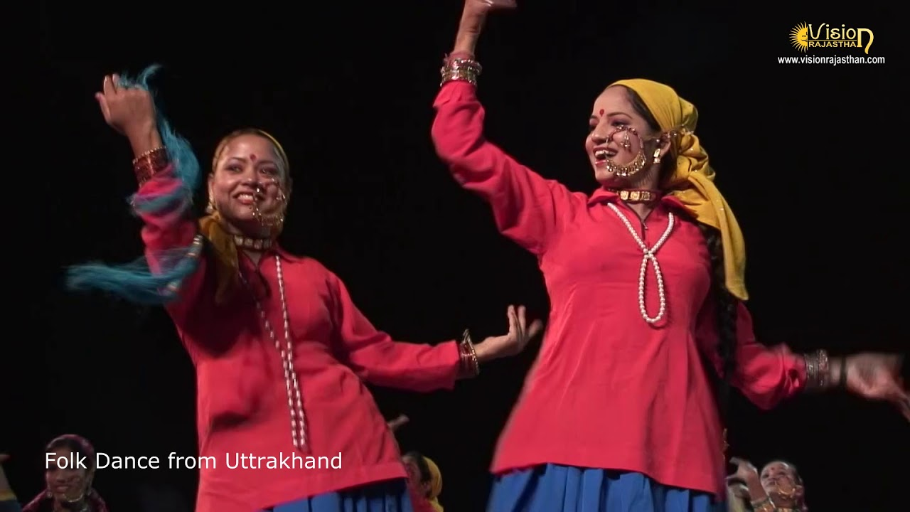Folk dance from Uttrakhand