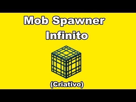 Minecraft:Como Fazer um Mob Spawner Infinito (Criativo 1.7.9)